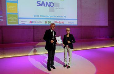 Premio BBA Mejor empresa - otorgado región europea Danubia-Vltava