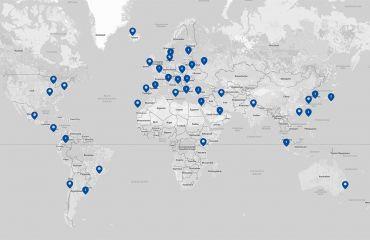 Creación de la red internacional de distribuidores