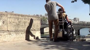 LIFTKAR PTR oruga sube-escaleras – en París