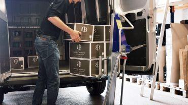 UNIKAR carretilla de elevación manual – vino (en cajones)